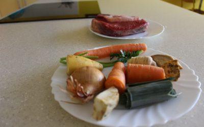 Sedmošolci Evropi predstavili tradicionalno slovensko juho