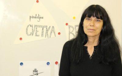 Pisateljica Cvetka Bevc nas je obiskala v okviru projekta Povabimo besedo