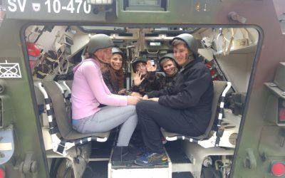 Obisk vojašnice v Novem mestu