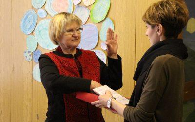 Upokojila se je svetovalna delavka Darinka Jerman