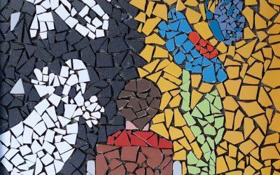Izdelovanje mozaikov na OŠ Dragotina Ketteja