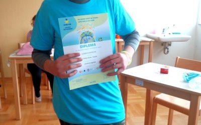 V okviru natečaja Evropa v šoli med pet najboljših v Sloveniji